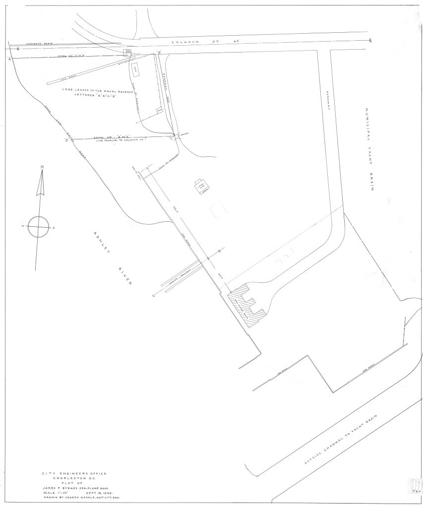 Black and white sketch of a proposed city development plan