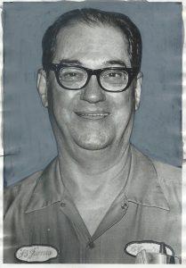 Bill in work uniform