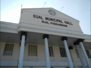 large city hall structure in the Philippines.